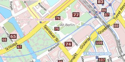 Rote Karte Berlin Mitte.Rotes Rathaus Berlin Das Rote Rathaus Am Alexanderplatz