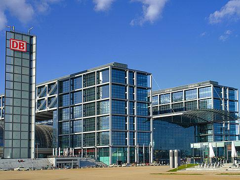 Glasfassade  Foto von Hauptbahnhof Berlin von Berlin mit Bildgalerie - Glasfassade