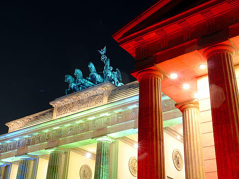 Fotos Brandenburger Tor bei Nacht