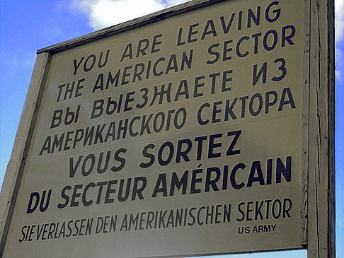 Checkpoint Charlie Fotos