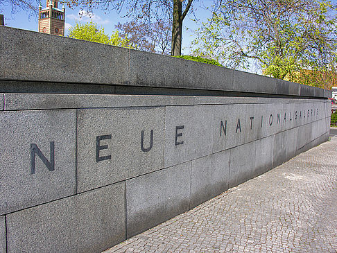 Foto Neue Nationalgalerie - Berlin